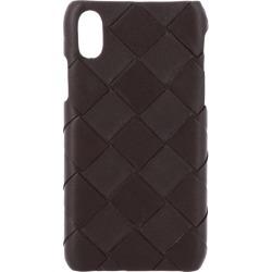 Case Bottega Veneta Iphone Xs Cover In Woven Leather