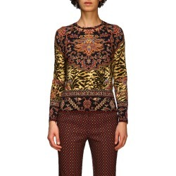 Jumper Long-sleeved Jumper In Patterned Jersey By Etro