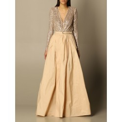 Elisabetta Franchi long dress with sequin body found on Bargain Bro Philippines from giglio.com us for $799.64