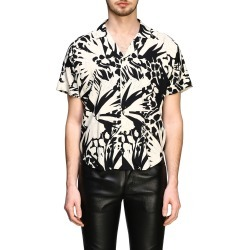 Shirt Saint Laurent Short-sleeved Shirt With All Over