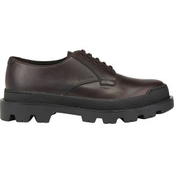 Brogue Shoes Prada Leather Derby Shoes With Maxi Rubber Sole found on Bargain Bro UK from giglio.com uk
