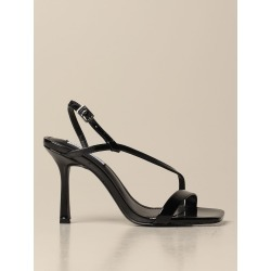Heeled Sandals STEVE MADDEN Women color Black found on Bargain Bro from giglio.com us for USD $88.08