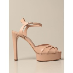 Heeled Sandals CASADEI Women color Nude found on Bargain Bro from giglio.com us for USD $612.13
