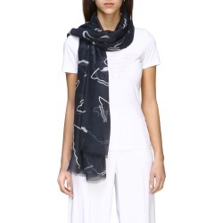 Scarf Emporio Armani Scarf With All Over Logo Print