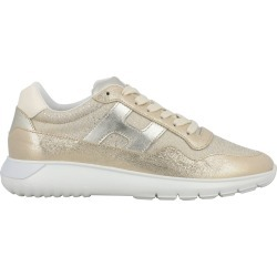 Sneakers Hogan Interactive Cube Sneakers In Laminated Leather And Lurex Mesh found on Bargain Bro India from giglio.com us for $315.00