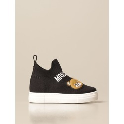 Moschino Baby sock sneakers in stretch knit with logo found on Bargain Bro from giglio.com us for USD $182.76