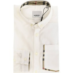 Shirt Button-down Shirt With Burberry Check Interior