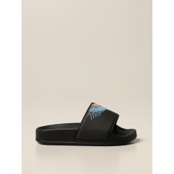 Marcelo Burlon rubber sandal with bird feathers found on Bargain Bro from giglio.com us for USD $78.39