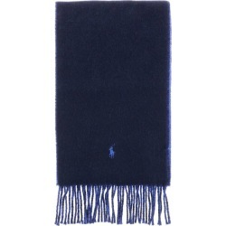 Scarf Polo Ralph Lauren Scarf In Bicolor Wool With Logo