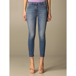 Elisabetta Franchi 5-pocket jeans found on MODAPINS from giglio.com us for USD $278.14