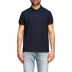 T-shirt Saint Laurent Short-sleeved Sport Polo Shirt With Mini Monogram