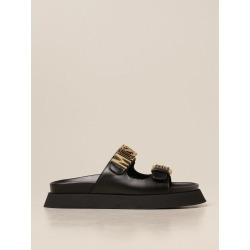 Moschino Couture leather sandals found on MODAPINS from giglio.com us for USD $341.87