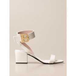 Balmain leather sandals with logo found on MODAPINS from giglio.com us for USD $869.19