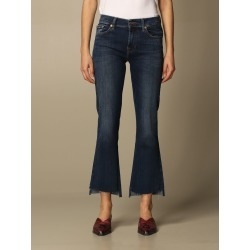 Jeans 7 FOR ALL MANKIND Women color Blue found on Bargain Bro India from giglio.com us for $266.54