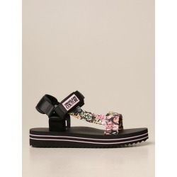 Heeled Sandals VERSACE JEANS COUTURE Women color Black found on Bargain Bro from giglio.com us for USD $83.68
