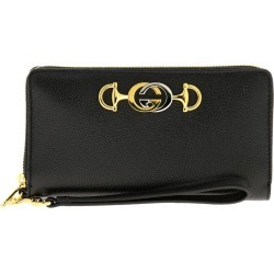 Wallet Gucci Continental Hammered Leather Walletwith Bicolor Gg Monogram found on Bargain Bro UK from giglio.com uk
