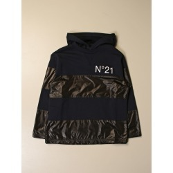N ° 21 bi-material sweatshirt with logo found on MODAPINS from giglio.com us for USD $86.93