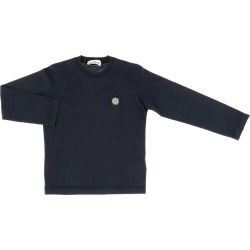 T-shirt Stone Island Basic T-shirt With Long Sleeves And Mini Logo