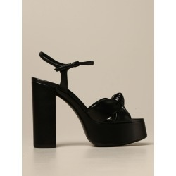 White Saint Laurent leather sandals found on MODAPINS from giglio.com us for USD $402.72