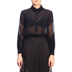 Shirt Boutique Moschino Shirt In Veiled Fabric And Lace