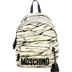 Backpack Moschino Couture Nylon Backpack With Mummy Print And Logo