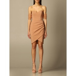 Elisabetta Franchi short dress in technical fabric found on MODAPINS from giglio.com us for USD $416.05