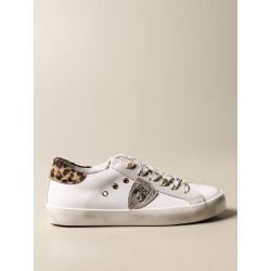 Paris Philippe Model sneakers in leather and suede found on Bargain Bro from giglio.com us for USD $171.76