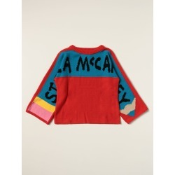 Stella McCartney sweater in cotton and wool with logo