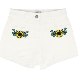 Bermuda Shorts Stella Mccartney Shorts With Floral Embroidery