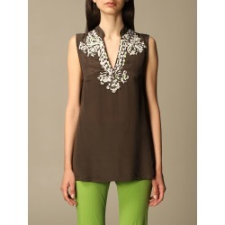 Top MALIPARMI Women colour Brown found on Bargain Bro UK from giglio.com uk