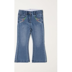 Stella McCartney jeans in denim with embroidery