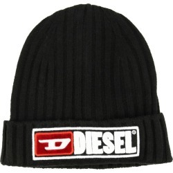 Hat Diesel Ribbed Hat With Logo