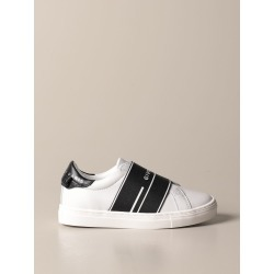 Givenchy slip on sneakers in leather with logoed band found on Bargain Bro from giglio.com us for USD $251.03