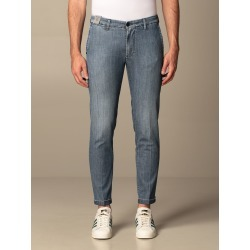 Jeans RE-HASH Men color Blue found on Bargain Bro India from giglio.com us for $201.65