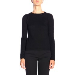 Sweater Max Mara Solange Sweater In Cashmere And Silk With Rhinestones