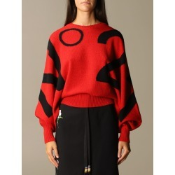 N ° 21 virgin wool sweater with jacquard logo found on MODAPINS from giglio.com us for USD $260.76