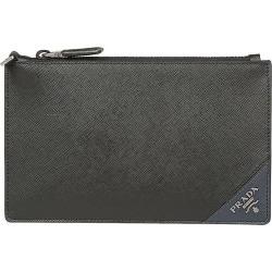 Pocket Square Wallet Men Prada