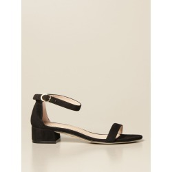 Nudist June Stuart Weitzman sandal in suede found on Bargain Bro from giglio.com us for USD $330.30