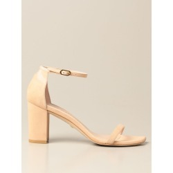 Heeled Sandals STUART WEITZMAN Women color Nude found on Bargain Bro from giglio.com us for USD $347.91