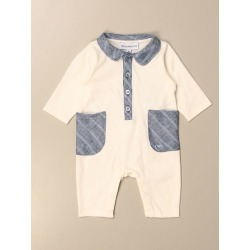 Bodysuit EMPORIO ARMANI Kids colour Gnawed Blue found on Bargain Bro UK from giglio.com uk