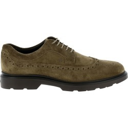 Brogue Shoes Hogan Suede 393 Derby Shoes With Brogue Motif And Memory Sole found on Bargain Bro UK from giglio.com uk