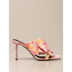Heeled Sandals VERSACE JEANS COUTURE Women color Multicolor found on Bargain Bro from giglio.com us for USD $176.15