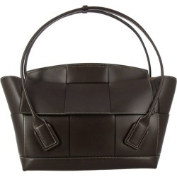Shoulder Bag Bottega Veneta Maxi Bag In Leather With Woven Macro Pattern