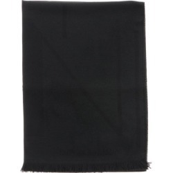 Scarf Emporio Armani Blended Wool Scarf With Logo
