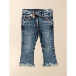 Monnalisa 5-pocket jeans in washed denim found on Bargain Bro India from giglio.com us for $156.46