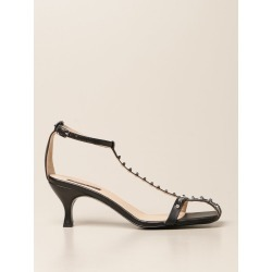 Heeled Sandals PATRIZIA PEPE Women color Black found on Bargain Bro from giglio.com us for USD $236.05