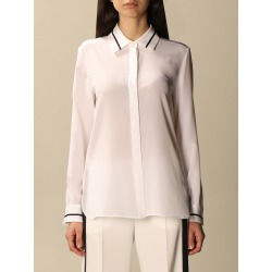 Max Mara silk shirt with contrasting details found on Bargain Bro UK from giglio.com uk
