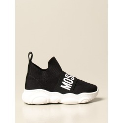 Moschino Baby sock sneakers in stretch knit with logo found on Bargain Bro from giglio.com us for USD $170.65