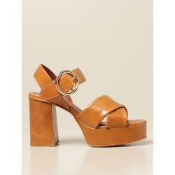 See By Chloé high sandals in leather found on Bargain Bro from giglio.com us for USD $286.25