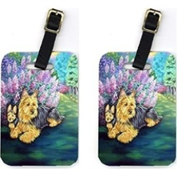 Carolines Treasures 7209BT Pair of 2 Australian Terrier Luggage Tags